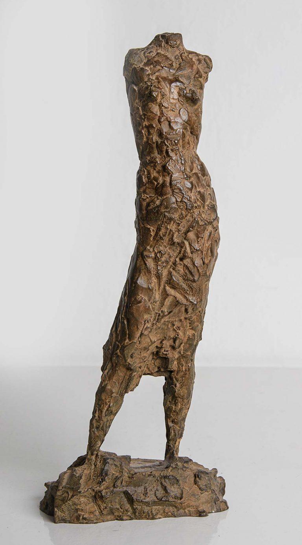Torso Stehende - Bronze-Skulptur