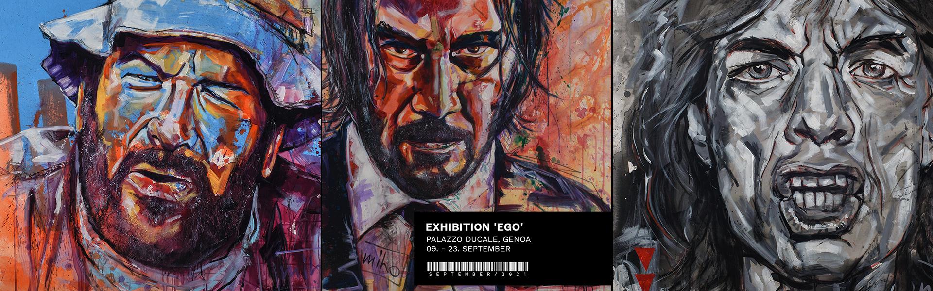 miho in Genoa September 2021 - Ego, Palazzo Ducale