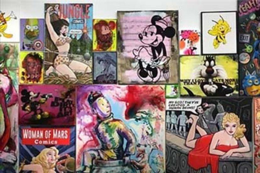 Ausstellungen & Events - Comics in der zeitgenössischen
