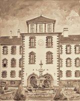 Stadtansichten - Schloss Elisabethenburg, M. Hopf