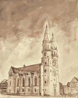 Stadtansichten - Stadtkirche, M. Hopf
